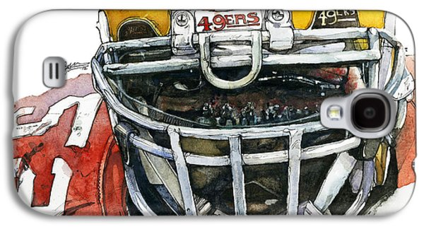Espn Galaxy S4 Cases - Patrick Willis - Force Galaxy S4 Case by Michael  Pattison
