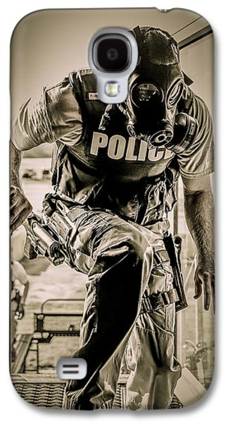Police Officer Galaxy S4 Cases - Patriot3 Second Floor Entry Galaxy S4 Case by David Morefield