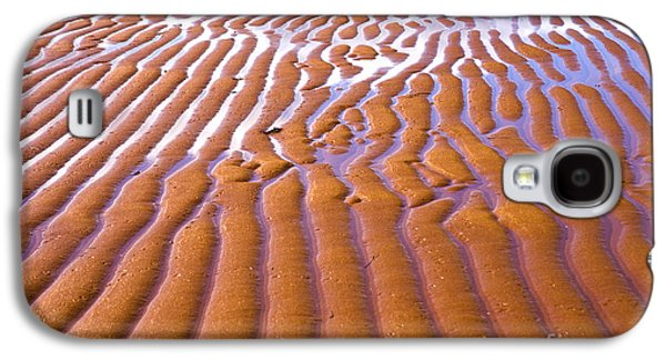 Sand Patterns Galaxy S4 Cases - Patterns in the Sand Galaxy S4 Case by Diane Diederich