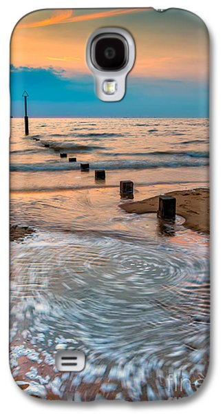 Waterscape Galaxy S4 Cases - Patterns on the Beach  Galaxy S4 Case by Adrian Evans