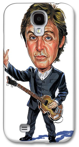 Person Galaxy S4 Cases - Paul McCartney Galaxy S4 Case by Art