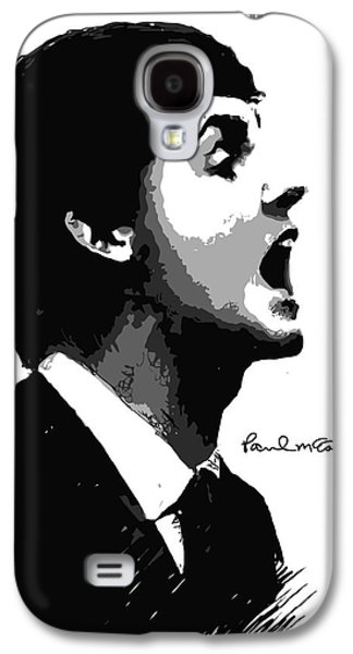 Beatles Galaxy S4 Cases - Paul McCartney No.01 Galaxy S4 Case by Caio Caldas