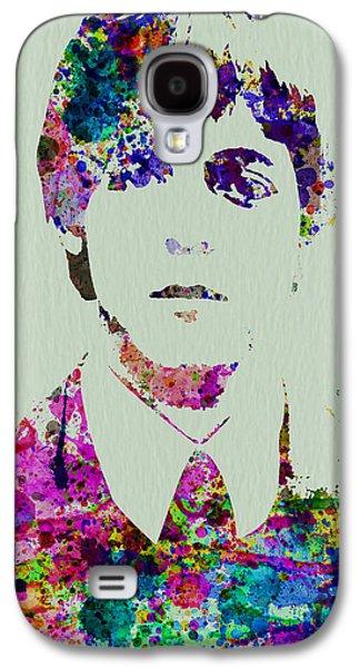 Beatles Galaxy S4 Cases - Paul McCartney Watercolor Galaxy S4 Case by Naxart Studio