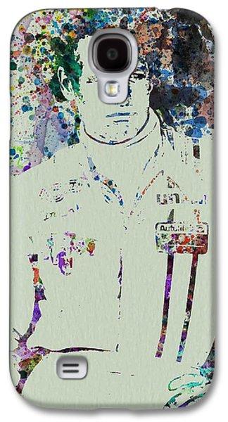 Movie Art Galaxy S4 Cases - Paul Newman  Galaxy S4 Case by Naxart Studio
