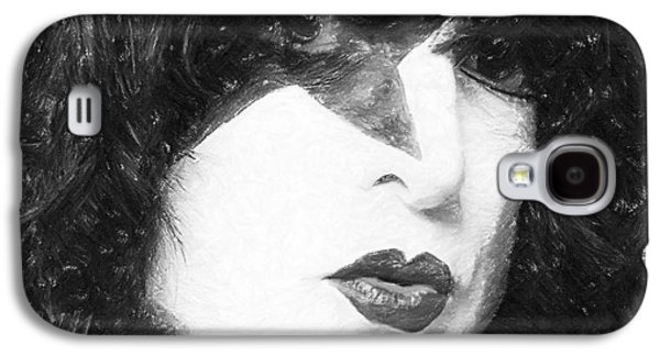 Landmarks Pastels Galaxy S4 Cases - Paul Stanley Galaxy S4 Case by Antony McAulay