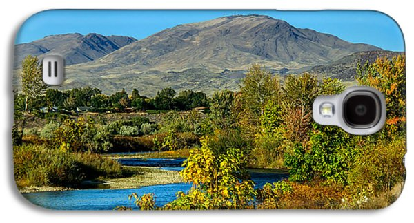 Payette River And Squaw Butte Galaxy S4 Case by Robert Bales