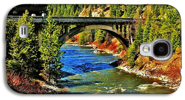 Idaho Photographs Galaxy S4 Cases - Payette River Scenic Byway Galaxy S4 Case by Benjamin Yeager