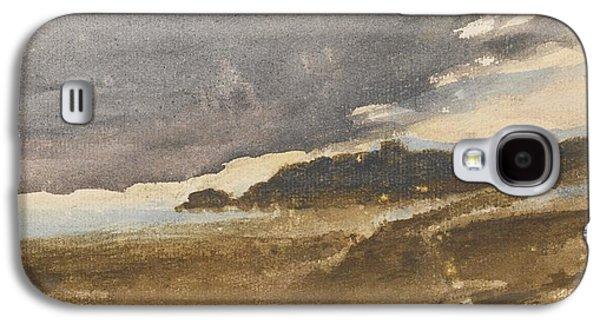 Delacroix Galaxy S4 Cases - Paysage De Bord De Mer Galaxy S4 Case by Eugene Delacroix