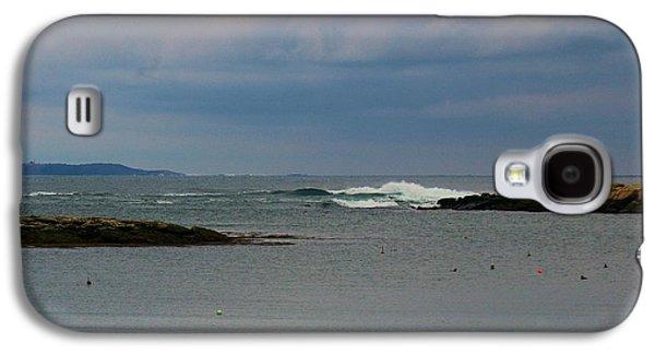 Mid-coast Maine Galaxy S4 Cases - Peace Galaxy S4 Case by Amy-Elizabeth Toomey