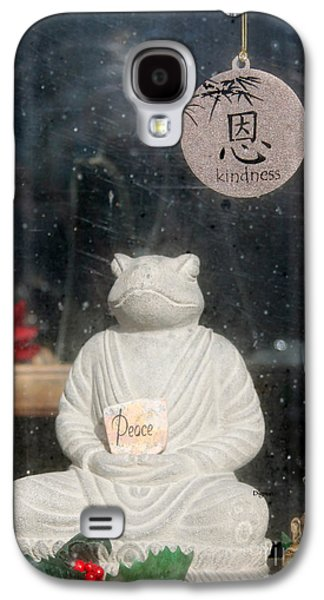 Spiritualism Galaxy S4 Cases - Peace and Kindness  Galaxy S4 Case by Steven  Digman