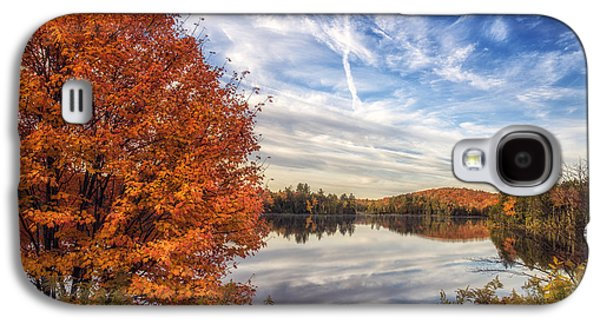 Reflections In Water Galaxy S4 Cases - Peace and Tranquility Galaxy S4 Case by Mark Papke
