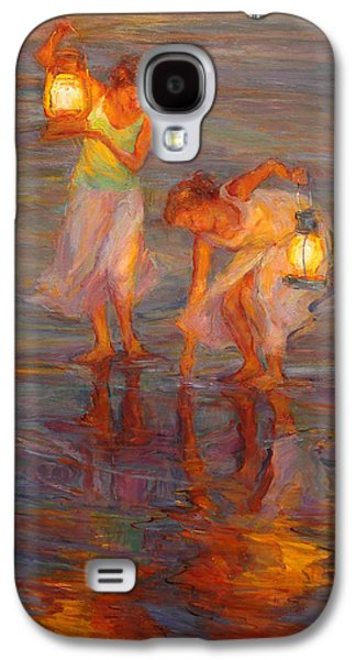 Ocean Paintings Galaxy S4 Cases - Peace Galaxy S4 Case by Diane Leonard