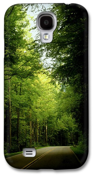 Scenic Drive Galaxy S4 Cases - Peace Found Within Galaxy S4 Case by Karen Wiles
