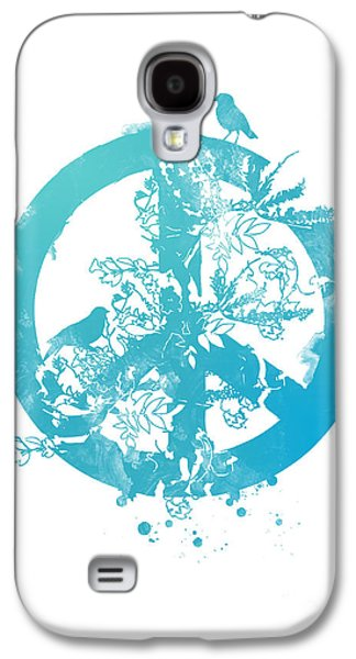 Peaceful Scene Galaxy S4 Cases - Peace grows Galaxy S4 Case by Budi Kwan