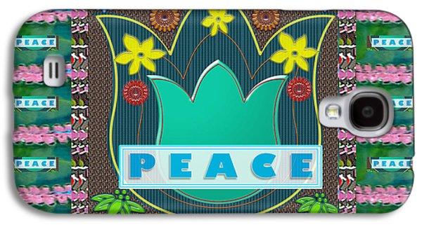 Peace Jobs Children Environment Society Country Nations World Politics Economy Brotherhood Drinking  Galaxy S4 Case by Navin Joshi