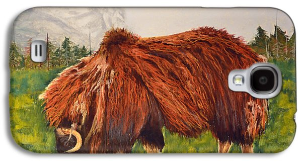 Bison Pastels Galaxy S4 Cases - Peace Galaxy S4 Case by Maddy Koushik