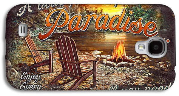 Chair Galaxy S4 Cases - Peace of Paradise Galaxy S4 Case by JQ Licensing
