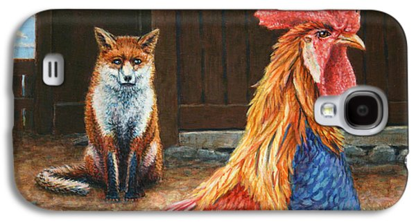 Red Fox Galaxy S4 Cases - Peaceful Coexistence Galaxy S4 Case by James W Johnson