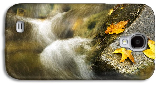 Abstracts Galaxy S4 Cases - Peaceful Creek Galaxy S4 Case by Christina Rollo