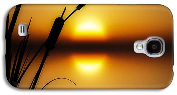 Dreamscape Galaxy S4 Cases - Peaceful Dawn Galaxy S4 Case by Bob Orsillo