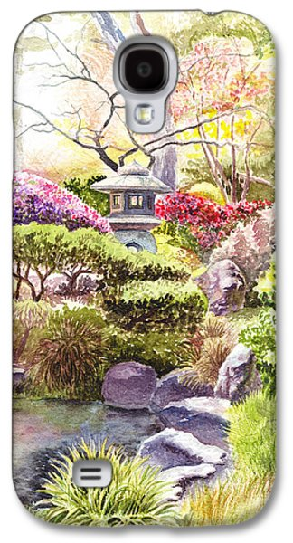 Peaceful Garden Galaxy S4 Case by Irina Sztukowski