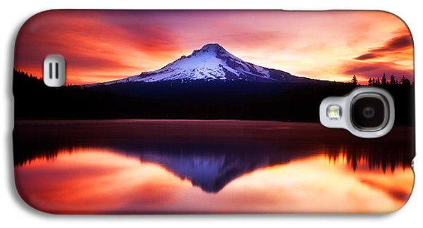 Darren Galaxy S4 Cases - Peaceful Morning on the Lake Galaxy S4 Case by Darren  White