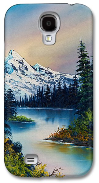 Ross Paintings Galaxy S4 Cases - Tranquil Reflections Galaxy S4 Case by C Steele