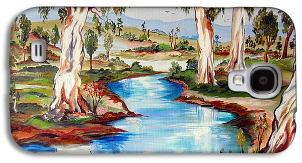 Peaceful River In The Australian Outback Galaxy S4 Case by Roberto Gagliardi