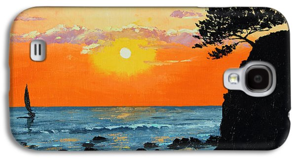 Jeans Galaxy S4 Cases - Peaceful Sunset Galaxy S4 Case by Jean-Marc Janiaczyk