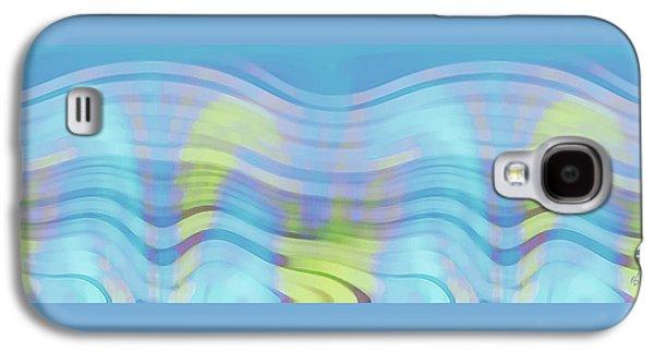 Peaceful Waves Galaxy S4 Case by Ben and Raisa Gertsberg