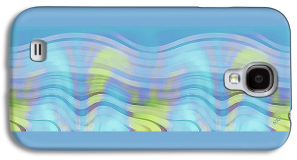 Ben Gertsberg Digital Art Galaxy S4 Cases - Peaceful Waves Galaxy S4 Case by Ben and Raisa Gertsberg