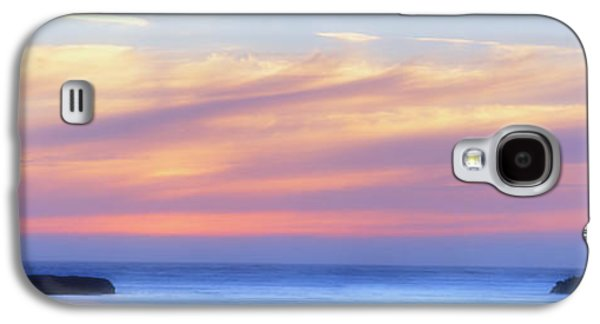 Dreamscape Galaxy S4 Cases - Peaches and Cream Galaxy S4 Case by Mark Kiver