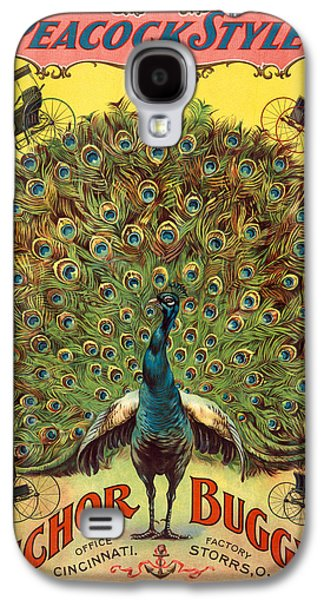 Digital Galaxy S4 Cases - Peacock Styles Galaxy S4 Case by Gary Grayson