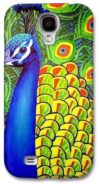 Motifs Galaxy S4 Cases - Peacock VII Galaxy S4 Case by John  Nolan