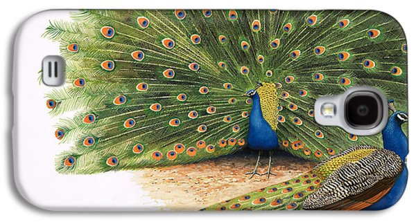 Peacocks Galaxy S4 Case by RB Davis