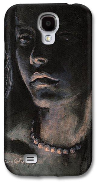 Pearls Galaxy S4 Case by Dorina  Costras