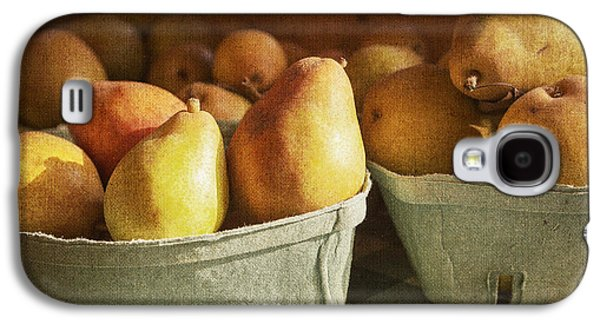 Farmstand Galaxy S4 Cases - Pears Galaxy S4 Case by Caitlyn  Grasso