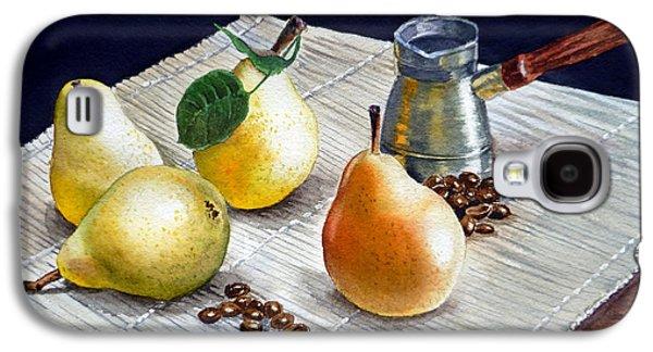 Pears Galaxy S4 Cases - Pears Galaxy S4 Case by Irina Sztukowski
