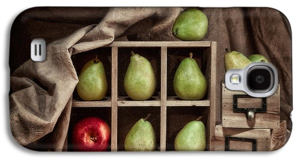 Drawers Galaxy S4 Cases - Pears on Display Still Life Galaxy S4 Case by Tom Mc Nemar