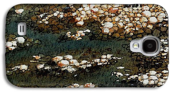 Stone Digital Art Galaxy S4 Cases - Pebbles Galaxy S4 Case by Anastasiya Malakhova