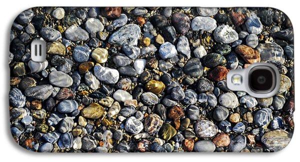 Pebbles Galaxy S4 Cases - Pebbles under water Galaxy S4 Case by Elena Elisseeva