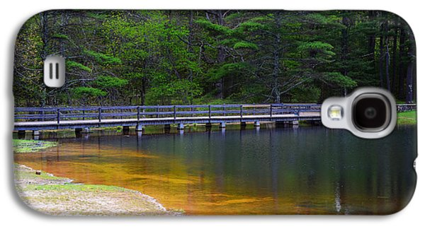 Pond In Park Galaxy S4 Cases - Peck Pond Galaxy S4 Case by Lourry Legarde