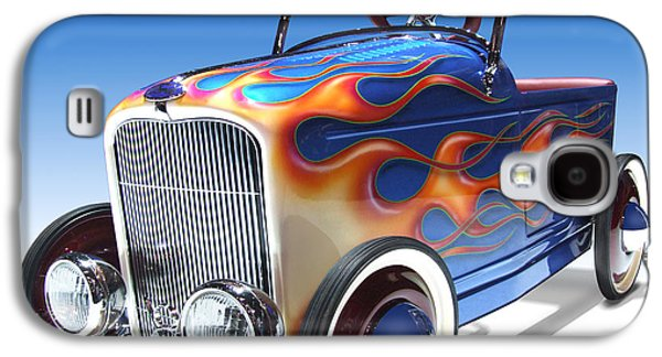 Peddle Car Galaxy S4 Case by Mike McGlothlen