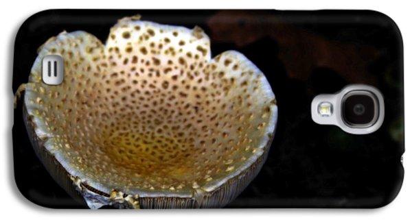 Mushroom Digital Art Galaxy S4 Cases - Pee Cup Galaxy S4 Case by Steven  Digman