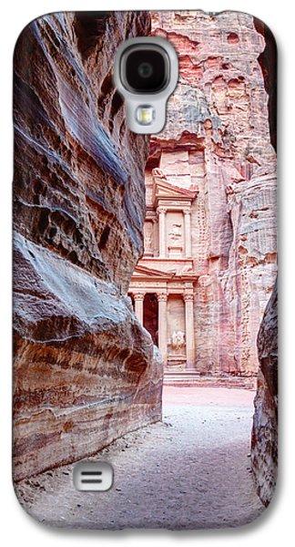 Nabatean Galaxy S4 Cases - Peeking Through Galaxy S4 Case by Alexey Stiop