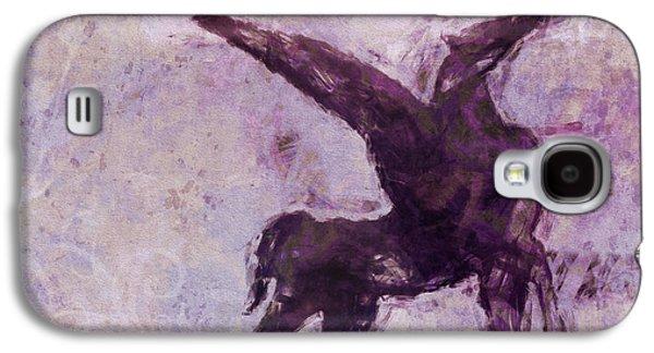 Abstract Digital Mixed Media Galaxy S4 Cases - Pegasus Antique Galaxy S4 Case by Lutz Baar