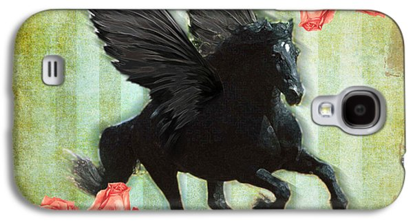 Engagement Digital Galaxy S4 Cases - Pegasus Galaxy S4 Case by Graphicsite Luzern