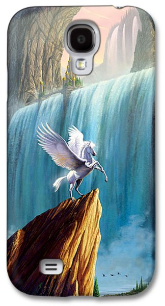 Pegasus Kingdom Galaxy S4 Case by Garry Walton