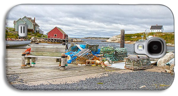 Bouys Galaxy S4 Cases - Peggys Cove 2 Galaxy S4 Case by Betsy A  Cutler