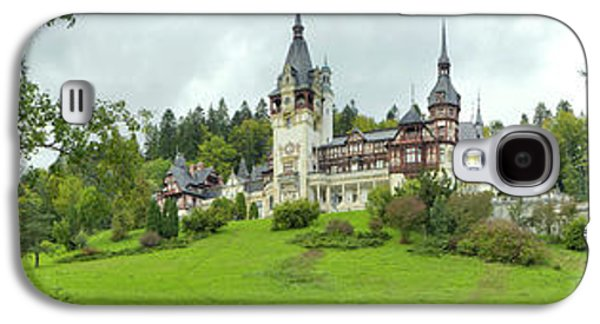 Peles Castle In The Carpathian Galaxy S4 Case by Panoramic Images